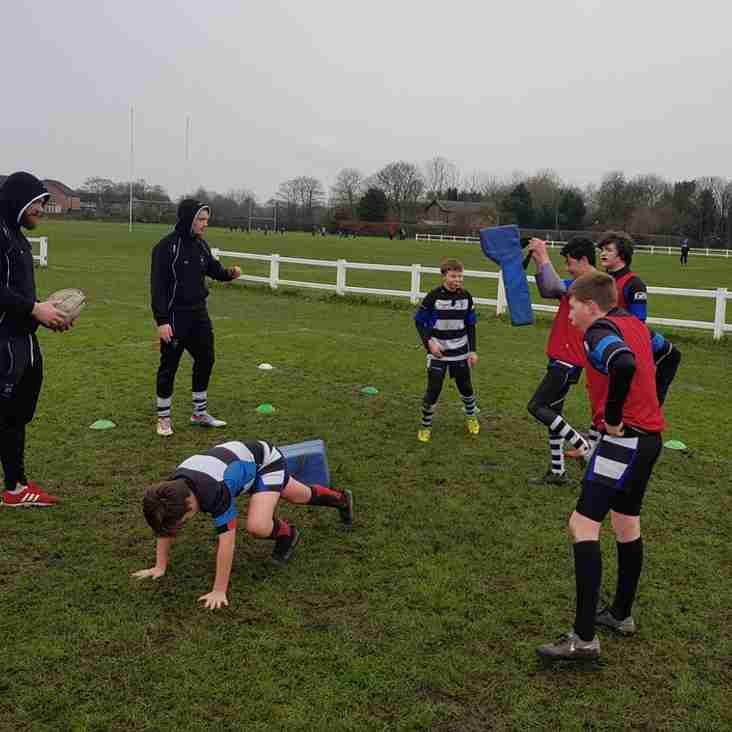 Mini Rugby Returns for the New Year Sunday 7th Jan