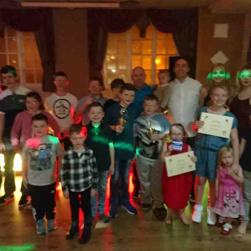 Whiston Taekwondo First presentation night