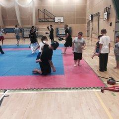 Saturday Training Session with WTKD