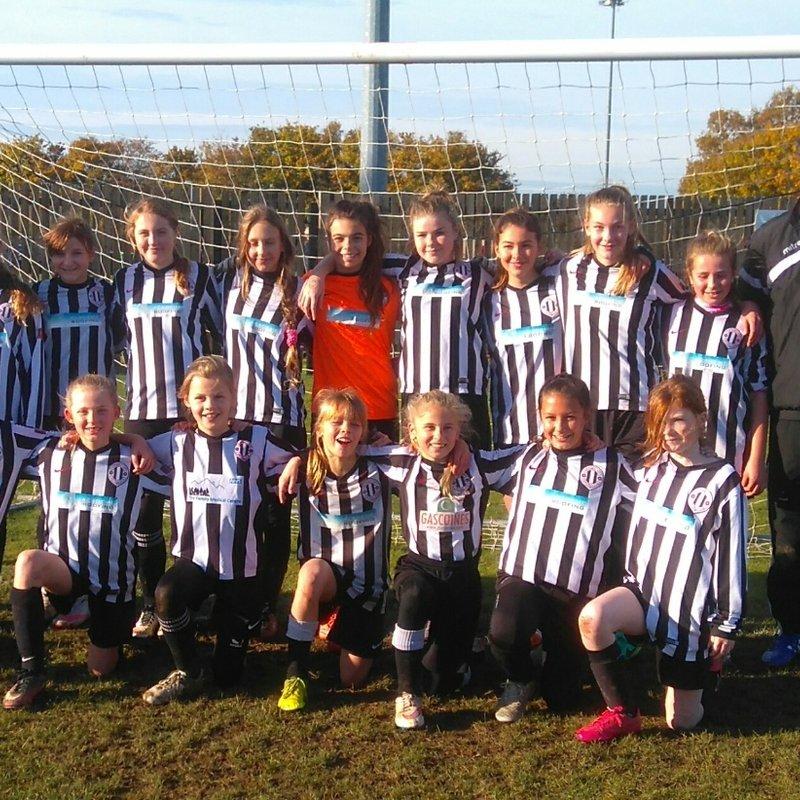 Southwell City Girls Football Tournament