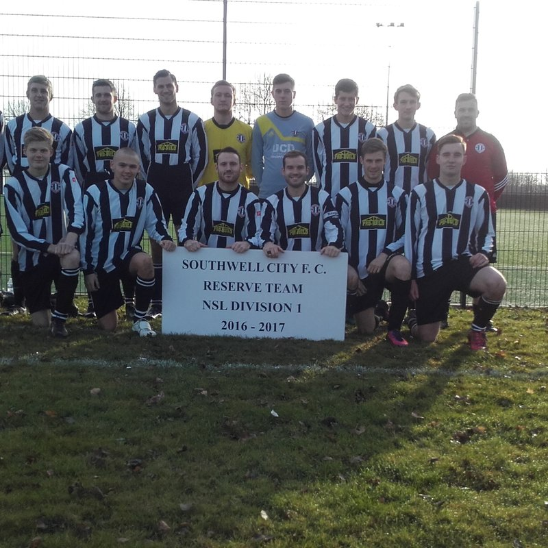 Reserves lose to Mansfield Hosiery Mills 6 - 1