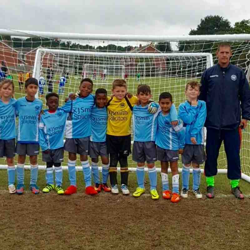 New Season 16/17 Woodley United Hurricanes U9