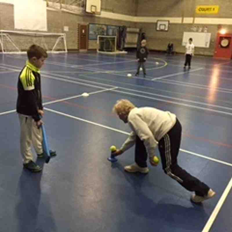Junior Indoor Nets with Trafford MV C.C.