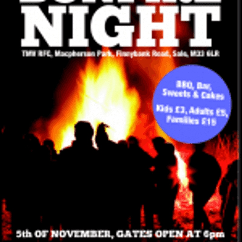 Bonfire Night Poster
