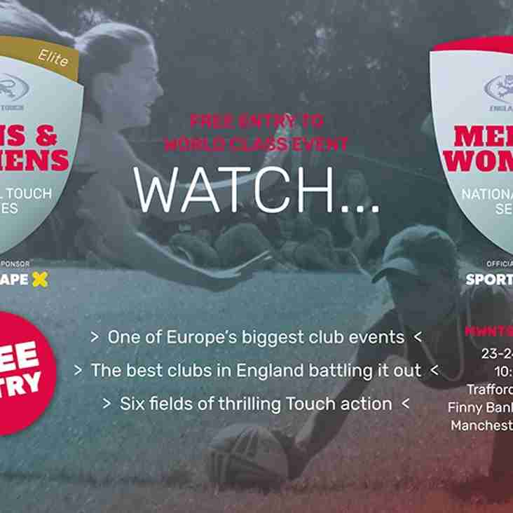 ENGLAND TOUCH - NATIONAL SERIES AT TRAFFORD MV