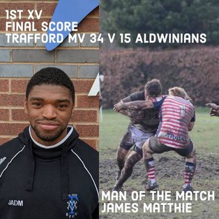 MV open League Campaign with Strong Win over Aldwinians 34-15