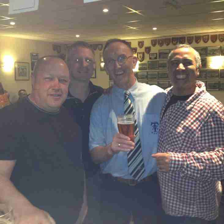 FORMER PLAYERS AUTUMN SOCIAL RE-UNION - SAT OCTOBER 6TH