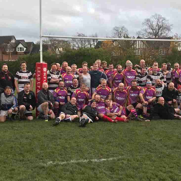 TRAFFORD MV OVER 35's VET's GAME vs CONGLETON VET's