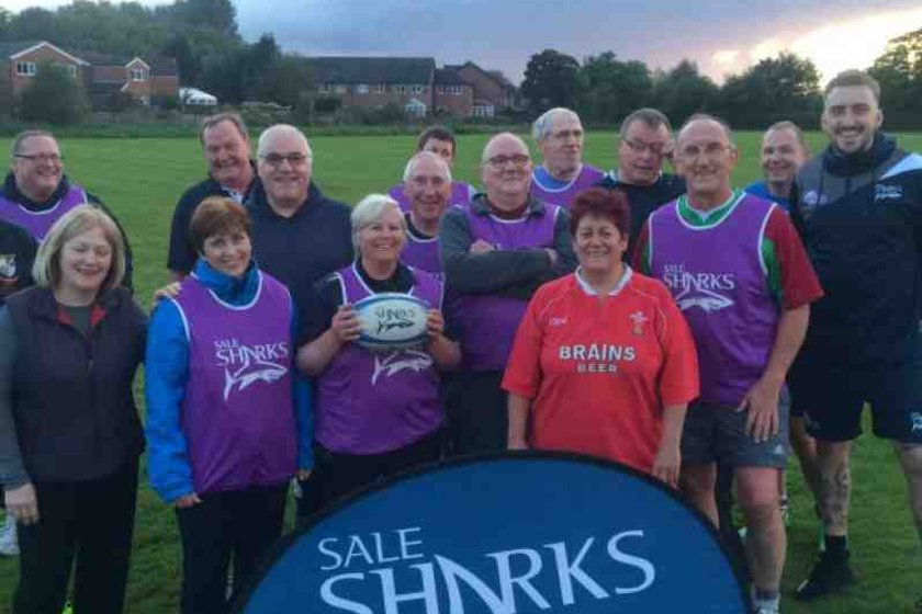 WALKING RUGBY AT TRAFFORD MV RUGBY CLUB IN SALE (M33 6LR)