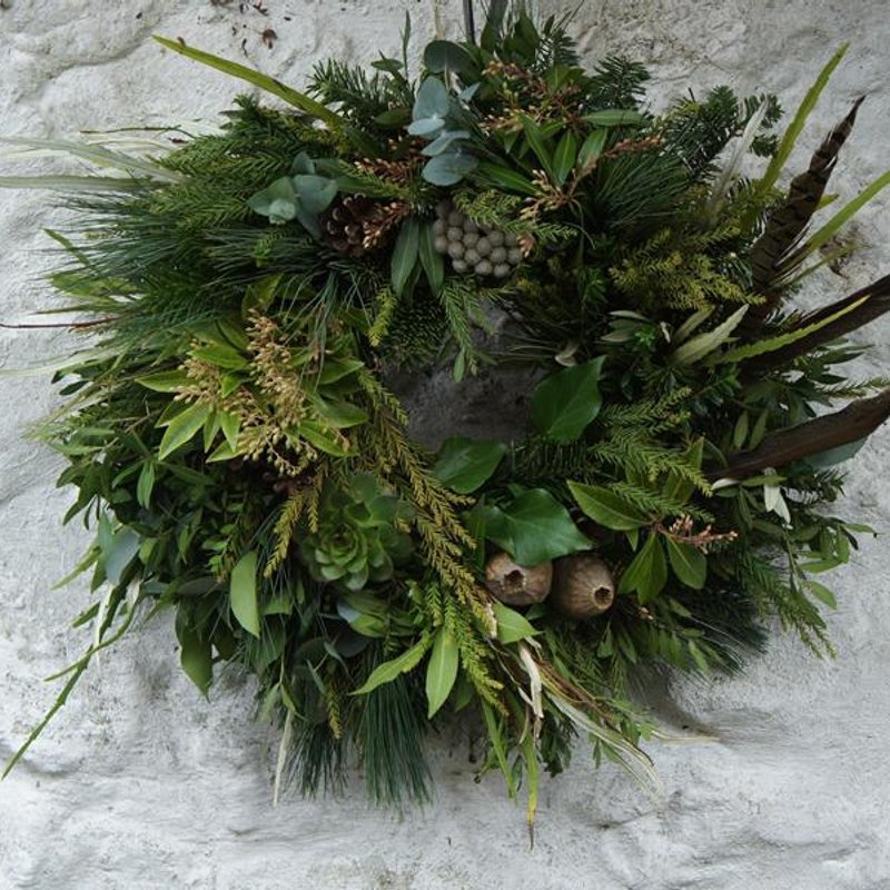 CHRISTMAS LADIES DAY AND FESTIVE WREATH MAKING