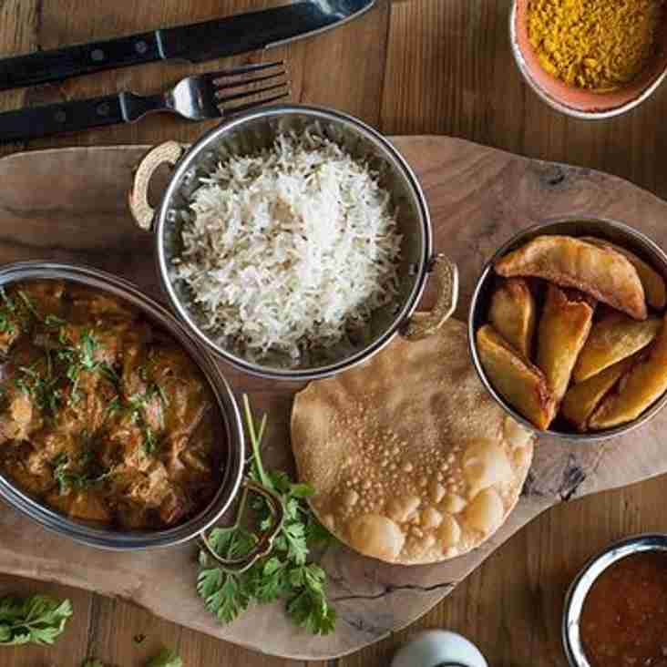 CHRISTMAS CURRY NIGHT - TUESDAY DEC 18TH
