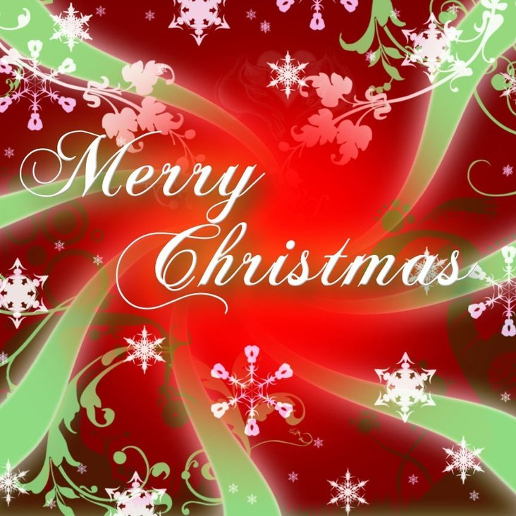 MERRY CHRISTMAS TO ONE AND ALL<
