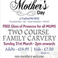 MOTHERS DAY LUNCH AT TRAFFORD MV
