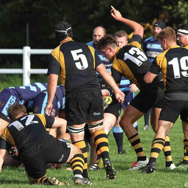 Telford Hornets 1st XV v Shrewsbury 1st XV 14/10/17