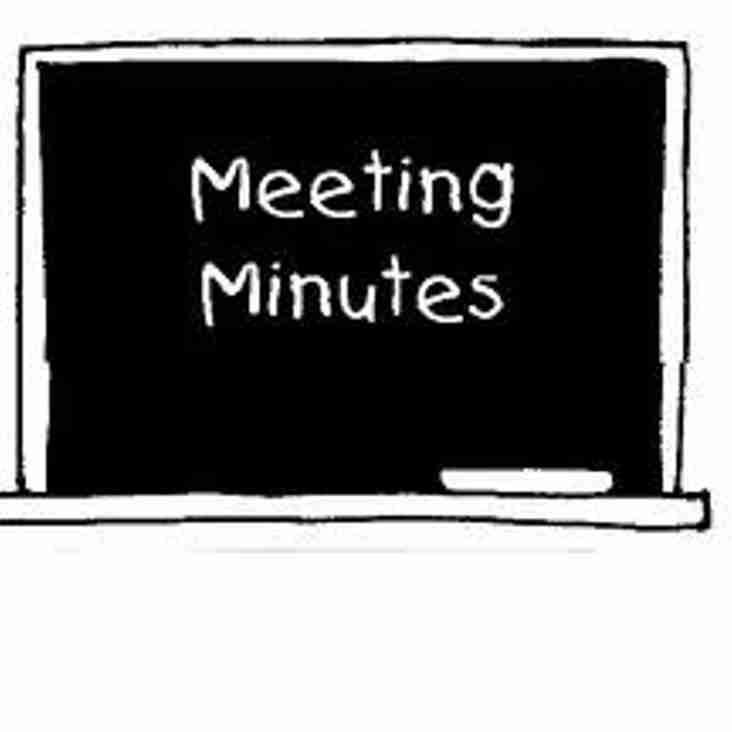 Minutes of NMCL Meeting