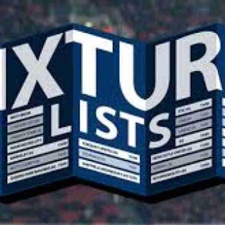 Fixtures coming soon!
