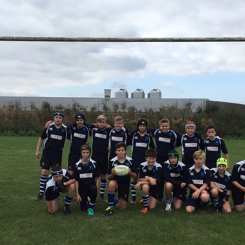 Under 14 lose to CAMBRIDGE 14 - 57