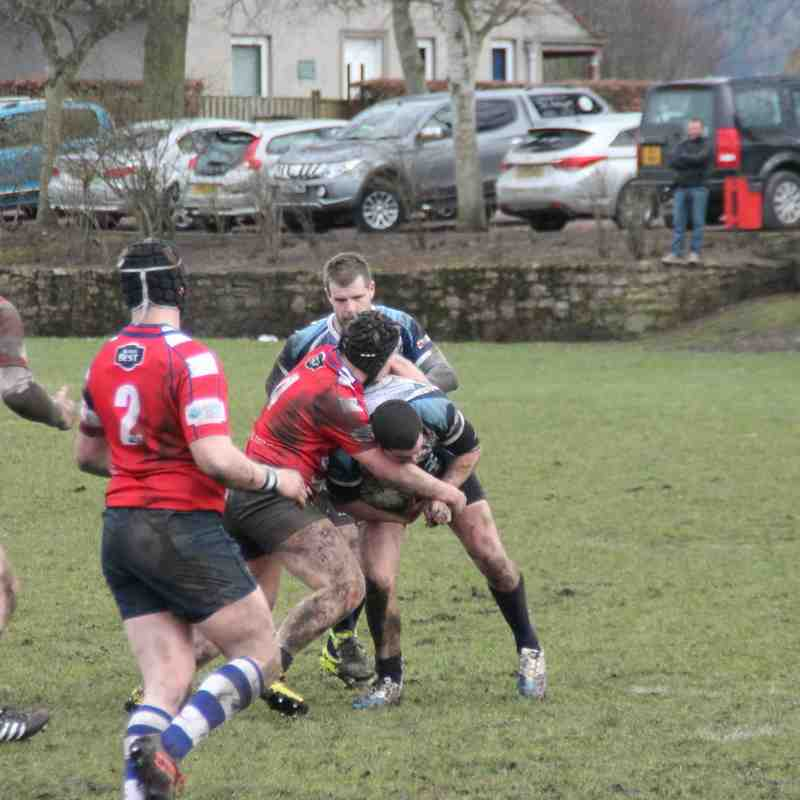 Howe 2nds V Blairgowrie 12.3.16