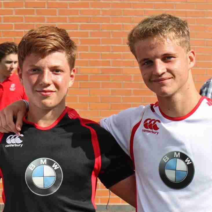 Chiltern boys at RFU & BMW Ultimate Event