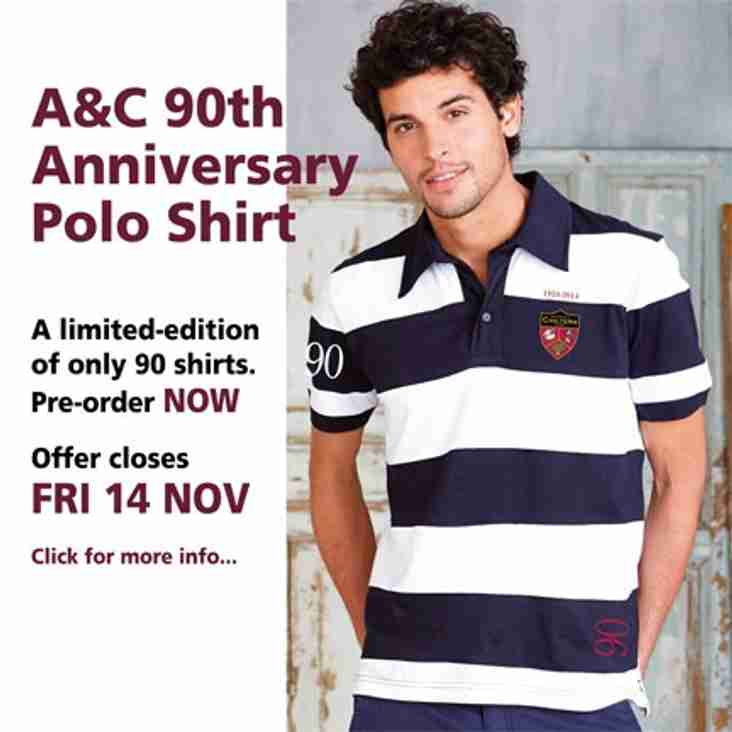 A&C 90th Anniversary Shirt