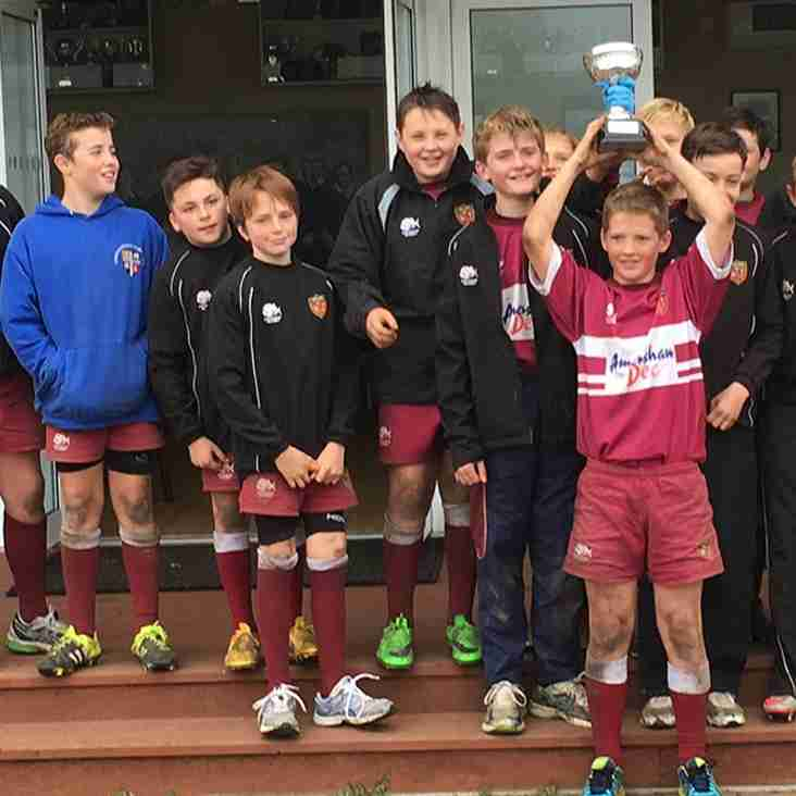A&C U12s win the South East Cup