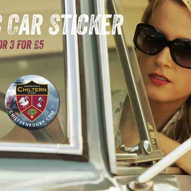 Get your A&C Car Sticker