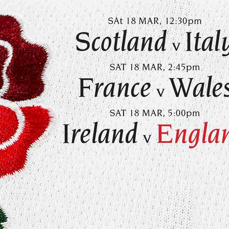 6 Nations FINALE - 18 March