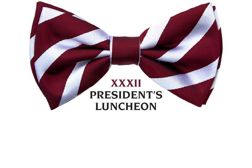 President's Luncheon - Sat 8 April