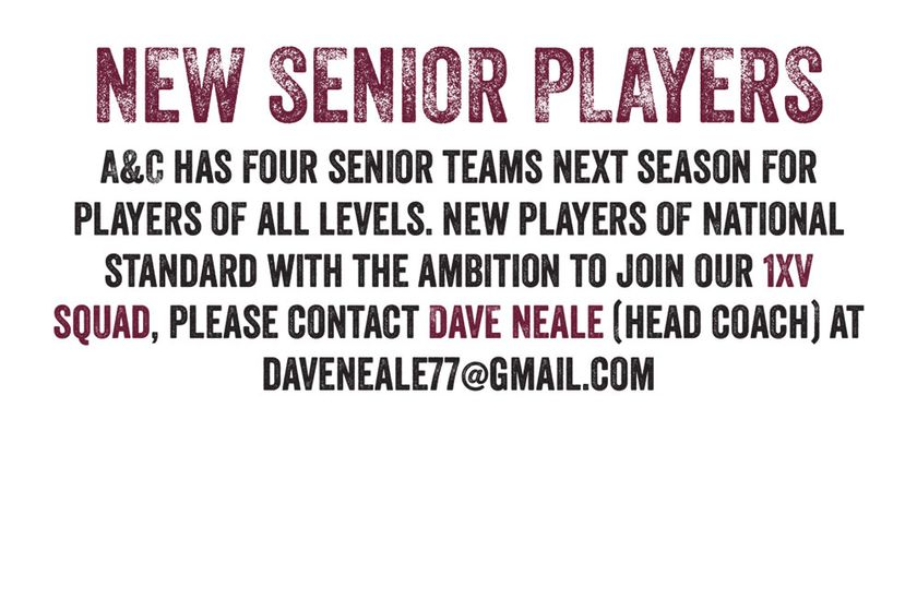 New senior players