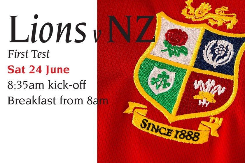Lions v NZ - First Test