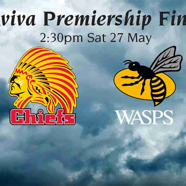 Wasps v Exeter - Sat 27 May