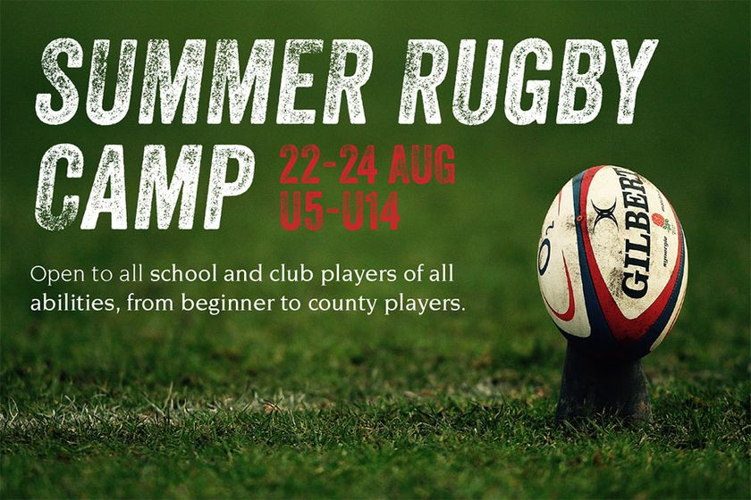 Summer Rugby Camp - 22/24 AUG