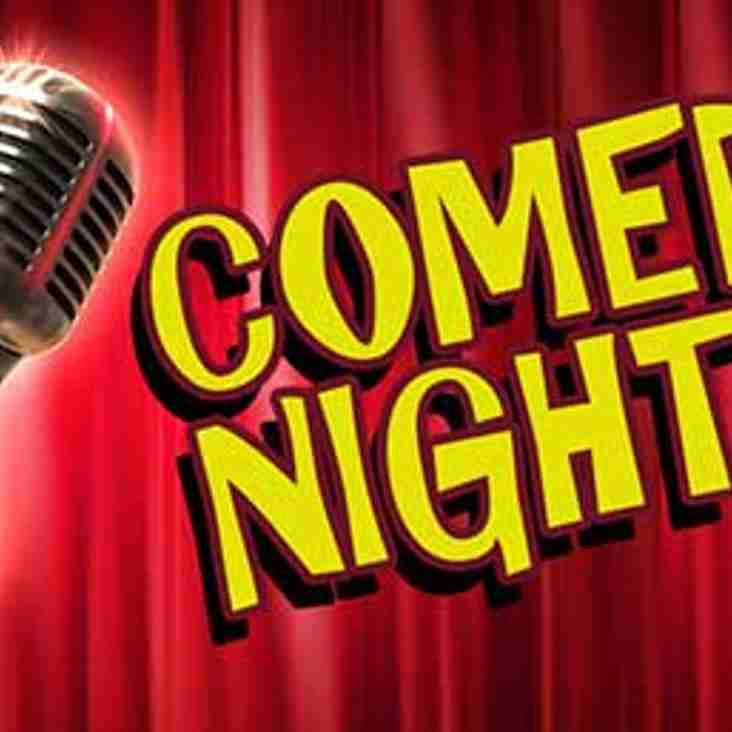 Only 3 tables left for the Comedy night