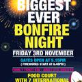 Bonfire Night! Fri 3rd Nov