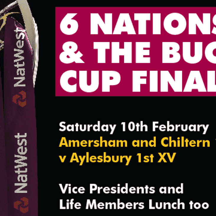 Bucks Cup Final ~ VP & Life Members Lunch