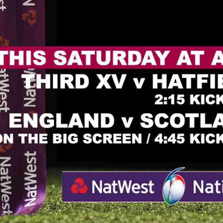 This Saturday @ A&C RFC