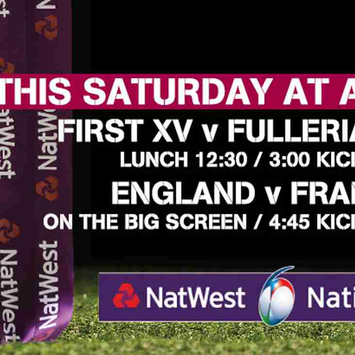 This Saturday @ A&C RFC
