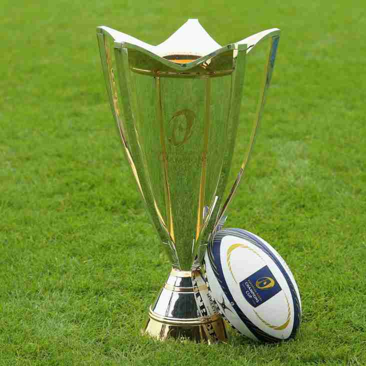 Champions Cup Final & England at the World Cup at A&C RFC
