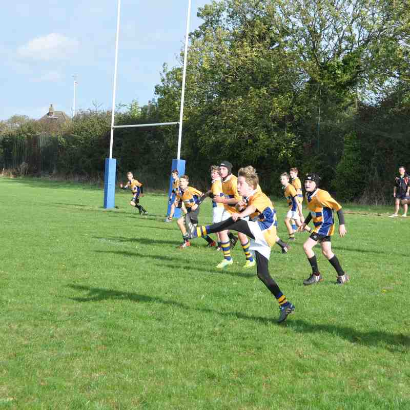 U13's home game against Scunthorpe