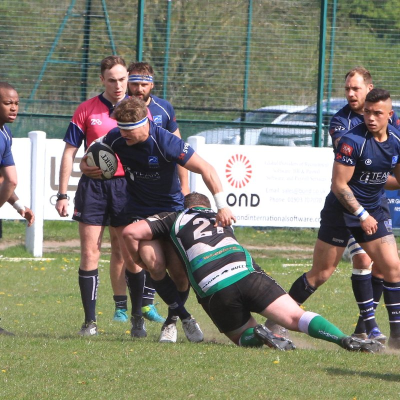 Blues and Tottonians Tie 29-29  in Season's Final Fixture