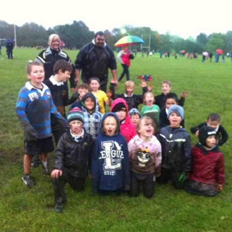 Training in the mud - O what fun we had