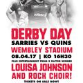 Sarries Derby Day and Pride in Unity Parade at Wembley on 8th April