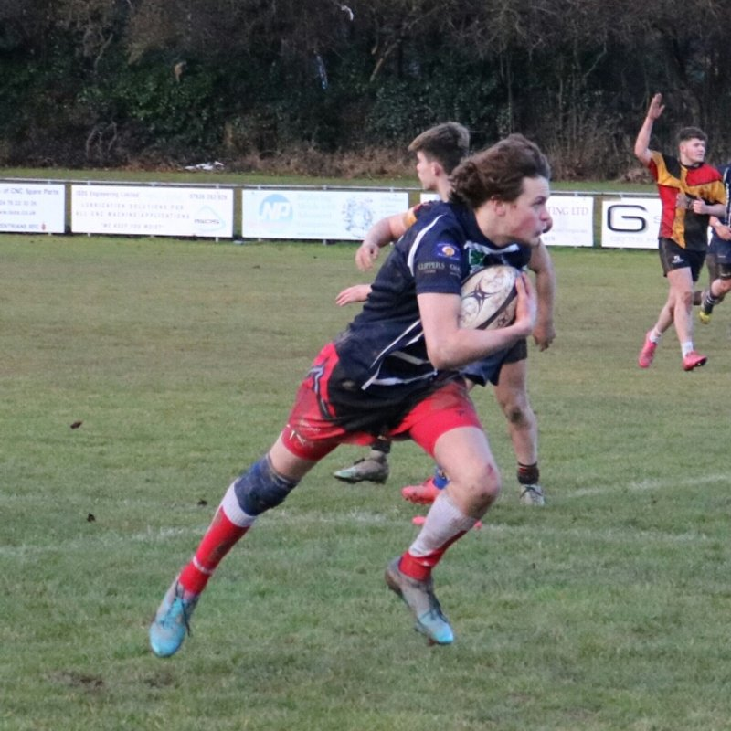 Colts 14-1-17 Old Covents