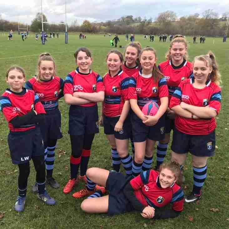 Gateshead Girls Team for the 1st time!