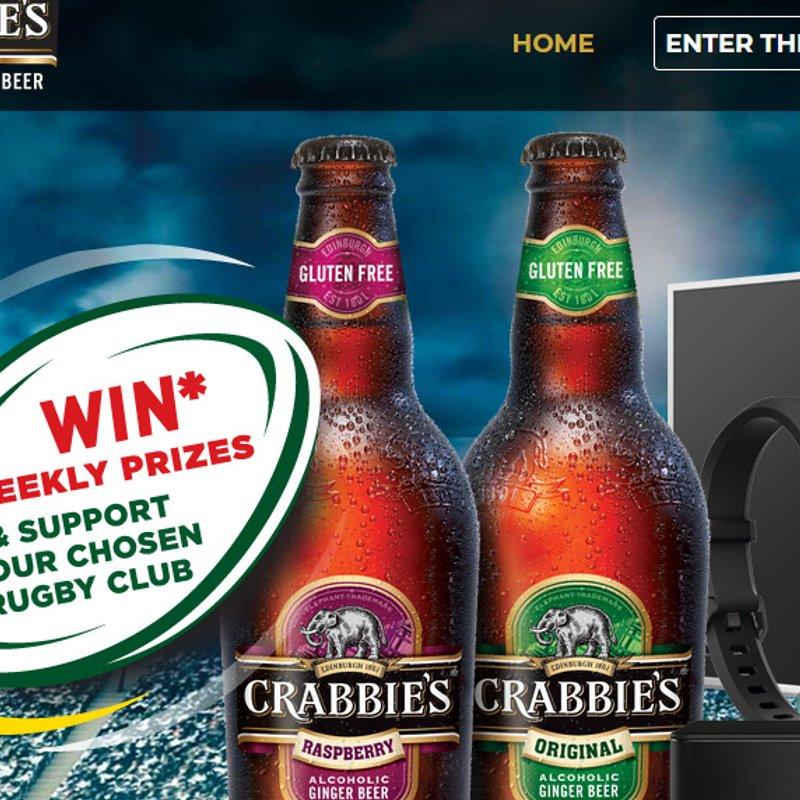 Crabbies Rewards programme