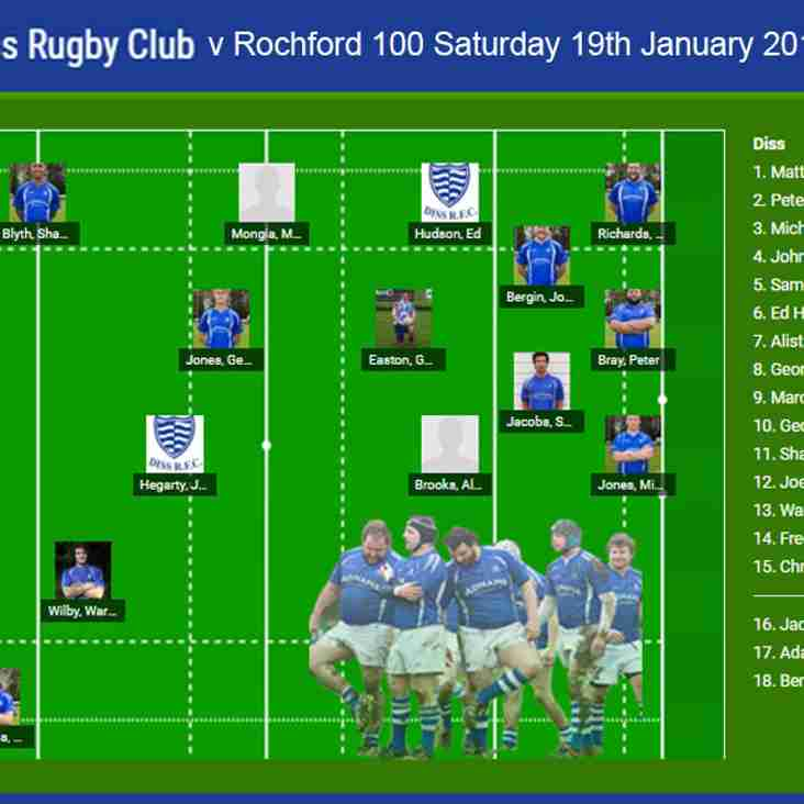 Diss RFC v Rochford Hundred RFC