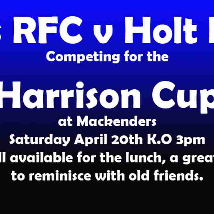 The Harrison Cup