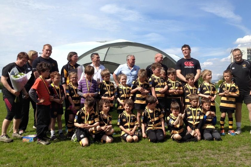 Kendal U8s' day trip to Sale Sharks
