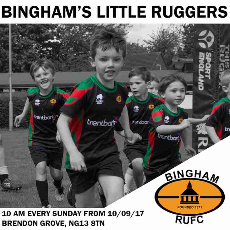 Bingham Little Ruggers - Registration 2017-18