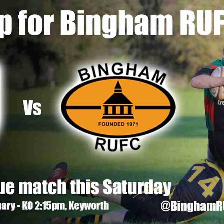 Next up for Bingham RFC
